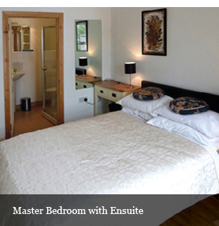 master bedroom and en-suite